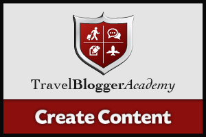 Travel Blogger Academy - Create Content