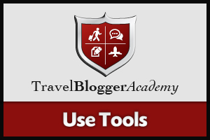 Travel Blogger Academy - Use Tools